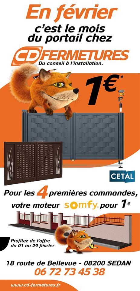 Offre CD Fermetures